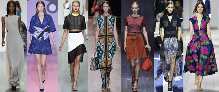 Dresses from Spring/Summer 2015
